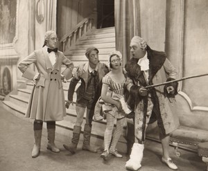 Londres Coliseum Theatre Casanova  Jack Barty Arthur Fear Ancienne Stage Photo 1932