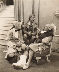 London Coliseum Theatre Casanova Jack Barty Arthur Fear Old Stage Photo 1932