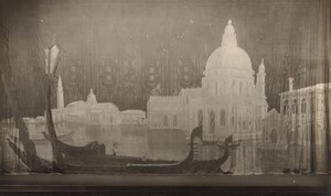 London Coliseum Theatre Casanova Stage design Old Stage Photo 1932 #1