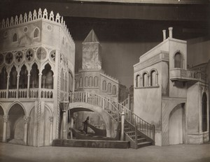 London Coliseum Theatre Casanova Stage design Old Stage Photo 1932 #2
