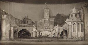 London Coliseum Theatre Casanova Stage design Old Stage Photo 1932 #4