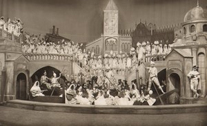 London Coliseum Theatre Casanova Actors Old Stage Photo 1932 #1