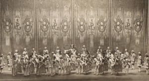 Londres Coliseum Theatre Casanova Acteurs en Scene Ancienne Stage Photo 1932 #3