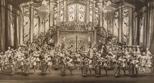 London Coliseum Theatre Casanova Actors Old Stage Photo 1932 #6