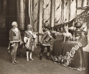 Londres Coliseum Theatre Casanova Acteurs en Scene Ancienne Stage Photo 1932 #9