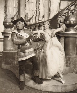 Londres Coliseum Theatre Casanova Oriel Ross Jack Barty Ancienne Stage Photo 1932