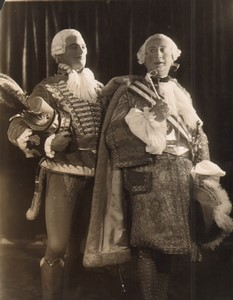 Londres Coliseum Theatre Casanova John Deverell Ben Williams Ancienne Stage Photo 1932