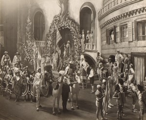 Londres Coliseum Theatre Casanova At the gate of Tarragona Ancienne Stage Photo 1932