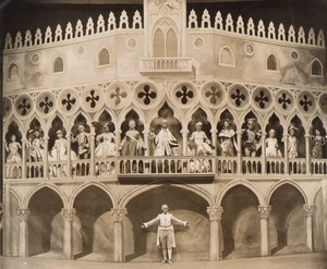 Londres Coliseum Theatre Casanova Carnival in Venice Ancienne Stage Photo 1932 #1