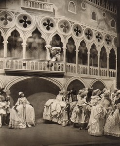 Londres Coliseum Theatre Casanova Carnival in Venice Ancienne Stage Photo 1932 #2