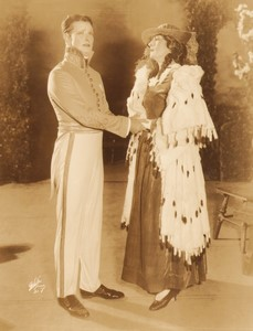 New York Broadway Musical Theatre The Student Prince Howard Marsh Florence Roberts? Ancienne Photo White 1924 #6