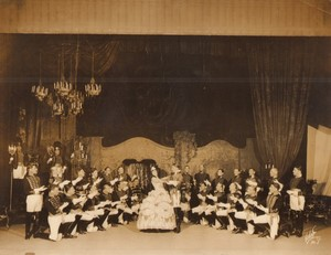 New York Broadway Musical Theatre The Student Prince Ancienne Photo White Studio 1924 #23