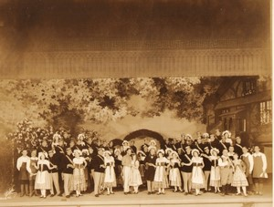 New York Broadway Musical Theatre The Student Prince Howard Marsh Ancienne Photo White 1924 #16