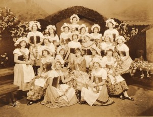New York Broadway Musical Theatre The Student Prince Ancienne Photo White Studio 1924 #26