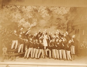 New York Broadway Musical Theatre The Student Prince Ancienne Photo White Studio 1924 #27