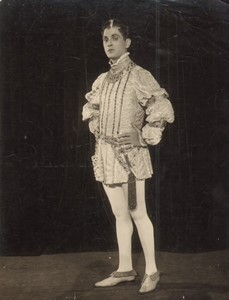 USA Theatre Stage Actor Walter Woolf King? Old De Mirjian Photo 1924