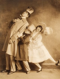 New York Broadway Musical Theatre The Student Prince? Ancienne Photo De Mirjian 1924 #6
