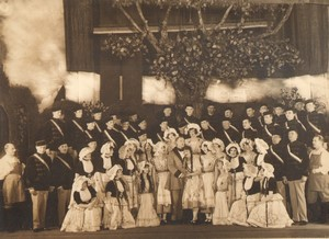 New York Broadway Musical Theatre The Student Prince? Ancienne Photo De Mirjian 1924 #27