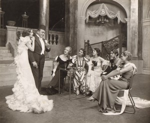 Londres Coliseum? Theatre Comedie Musicale Ancienne Stage Photo 1932 #3