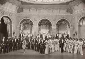 Londres Coliseum? Theatre Comedie Musicale Ancienne Stage Photo 1932 #8