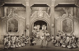 Londres Coliseum? Theatre Comedie Musicale Ancienne Stage Photo 1932 #9