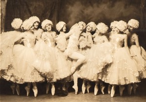 Ziegfeld Follies Albertina Rasch Dancers ancienne Photo Alfred Cheney Johnston 1920's