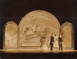 New York New Amsterdam Theatre The Band Wagon ancienne Photo Vandamm 1931