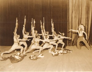 USA New York Broadway Theatre Ballet Danse Indienne Ancienne Photo White 1925