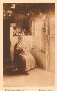 Belgium l'Art en Photographie old Halftone Ferdinand Leys 1901