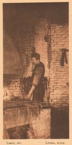 Belgium l'Art en Photographie Blacksmith old Halftone Leroi 1901 #1