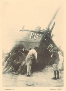 Belgium l'Art en Photographie Fishermen old Halftone Govaere 1901