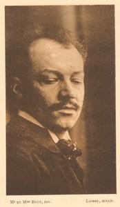 Belgium l'Art en Photographie Portrait old Halftone Bouy 1901