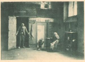 Belgium Sentiment d'Art en Photographie old Couple Halftone L. Bovier 1901