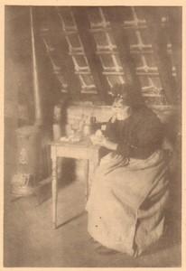 Belgium Sentiment d'Art en Photographie old Halftone Jules Van Grinderbeek 1901