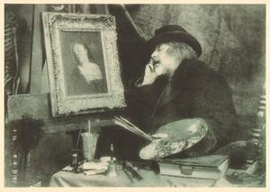 Belgium Sentiment d'Art en Photographie Painter old Halftone Van Loo 1901