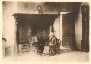 Belgium Sentiment d'Art en Photographie Fireplace old Halftone Coenraets 1901