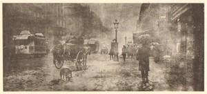 Belgium Sentiment d'Art en Photographie Street Scene old Halftone Bovier 1901