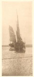 Belgium Sentiment d'Art en Photographie Sailboats Halftone Ferdinand Leys 1901