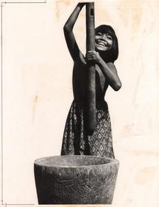 Cambodia Sinoun the Little Cambodian Girl old photo Odile Wertheimer 1968 #1