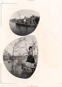 Cambodia Sinoun the Little Cambodian Girl 2 old photos Odile Wertheimer 1968 #2
