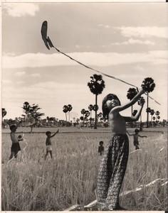 Cambodia Sinoun the Little Cambodian Girl Photomontage photos Wertheimer 1968 #3