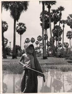 Cambodia Sinoun the Little Cambodian Girl Photomontage photo Wertheimer 1968 #9