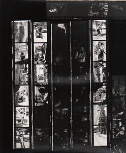Travel in Asia Far East? Artistic Study Transports Old contact print photo 1970