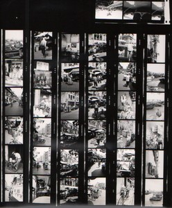 Travel in Asia Far East? Artistic Study Old contact print photo 1970