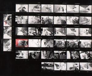 Voyage a Travers l'Asie Extreme Orient? Etude Artistique ancienne Planche Contact Photo 1970
