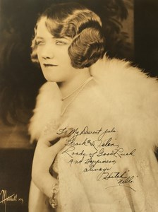 Cinema Actress Geneva Mitchell? Autograph old Mitchell Photo 1930's
