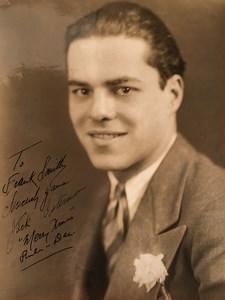 Actor Jack Osterman portrait Autograph Old De Mirjian Studios Photo 1930