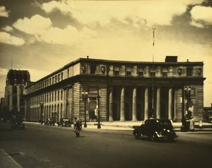 New York Syracuse Post Office Automobiles Old Photo 1940