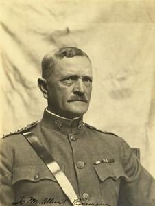 US Army General John Pershing Photo & Autograph to Albert Bonneau 1920's ?