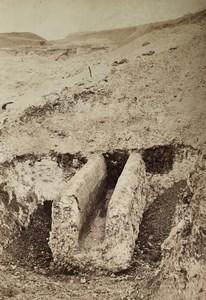 Paris Parc Montsouris Roman Aqueduct Eaux d'Arcueil Old Collard Photo 1869
